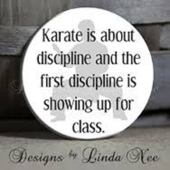 Karate and character